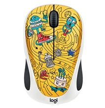 Logitech Doodle Collection M238 GoGo Gold Wireless Mouse